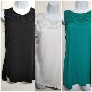 Liz Claiborne women's sleeveless blouses